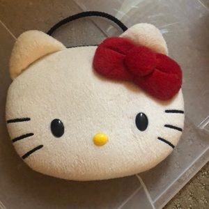 Hello Kitty plush purse with adjustable strap